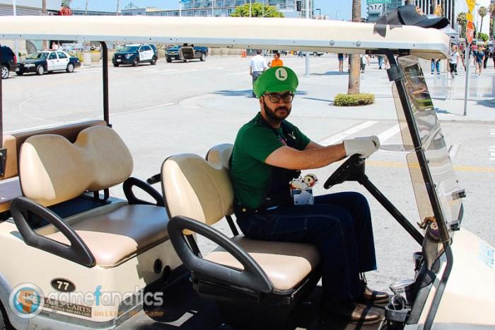 Death Stare Luigi  E3 2014 The Game Fanatics (1)