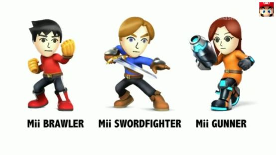 SmashBrosMiiFighterTypes