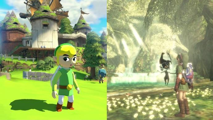 The Zelda formula may change very little, but Nintendo knows how to keep the presentation varied.
