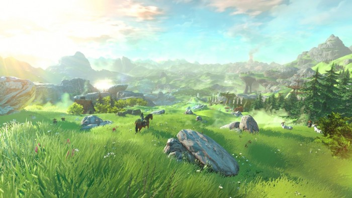 Remember in 'Ocarina' how crossing Hyrule Field would somehow take a day? THIS MIGHT ACTUALLY TAKE A DAY TO CROSS.