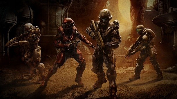 Fireteam Osiris, geared up and on the prowl for Master Chief and Blue Team.