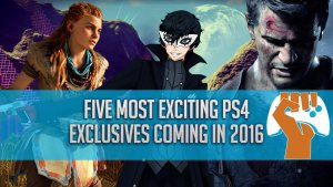 PlayStation 4 exclusives