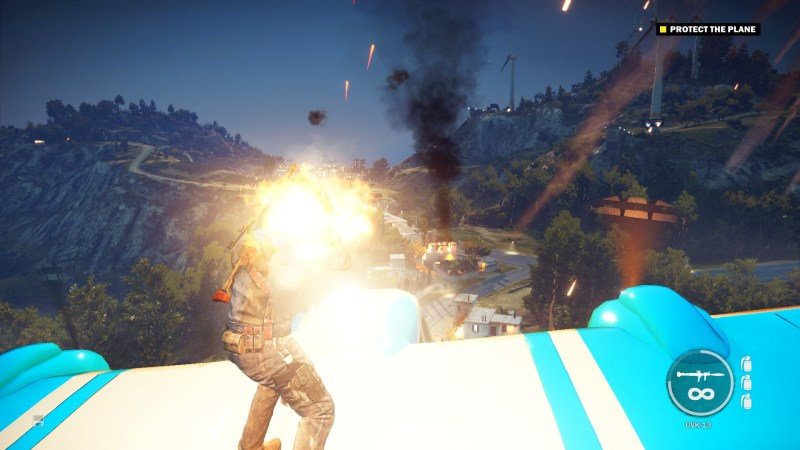 just cause 3, opening