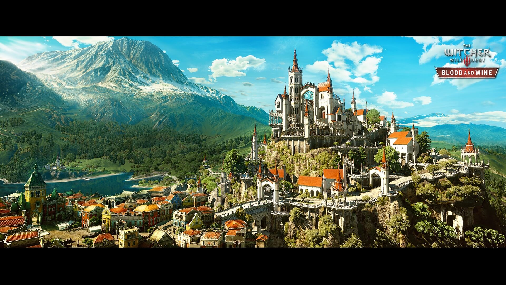Witcher 3 Toussaint