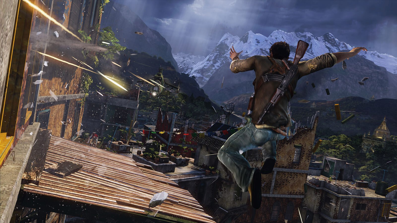 uncharted 2 monsters shambhala