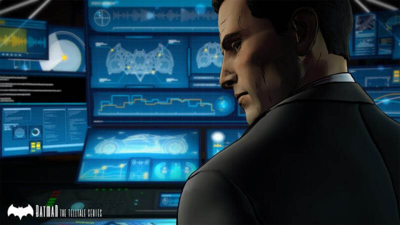Batman-The Telltale Series Batcomputer The Game Fanatics