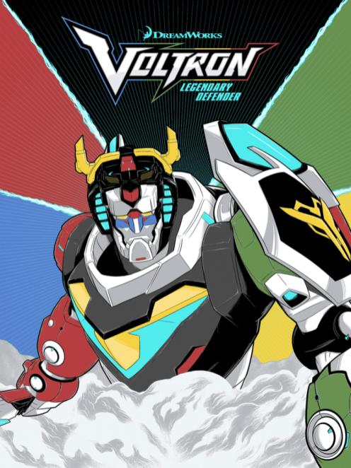 Voltron- Legendary Defender of the Universe by Matthew Johnson