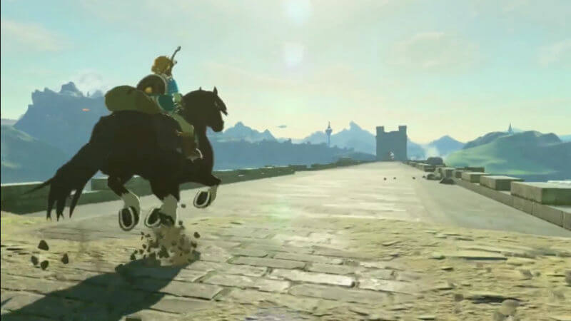 the legend of zelda: breath of the wild screen