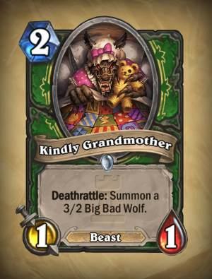 Kindly Grandmother - Hearthstone