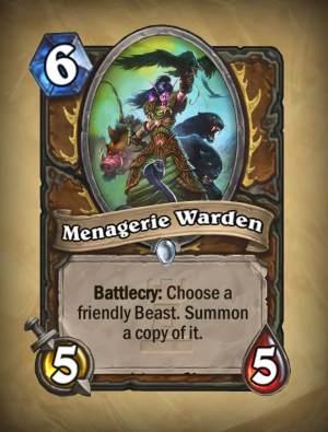 Menagerie Warden - Hearthstone