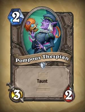 Pompous Thespian
