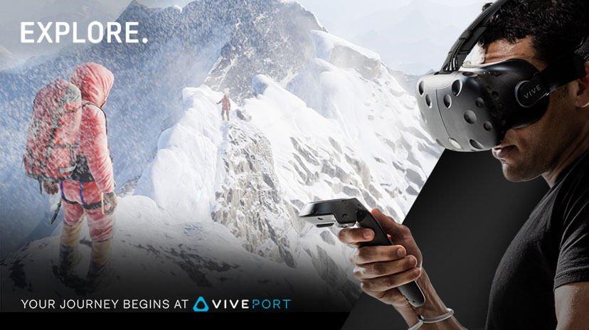 Everest VR from Viveport app store