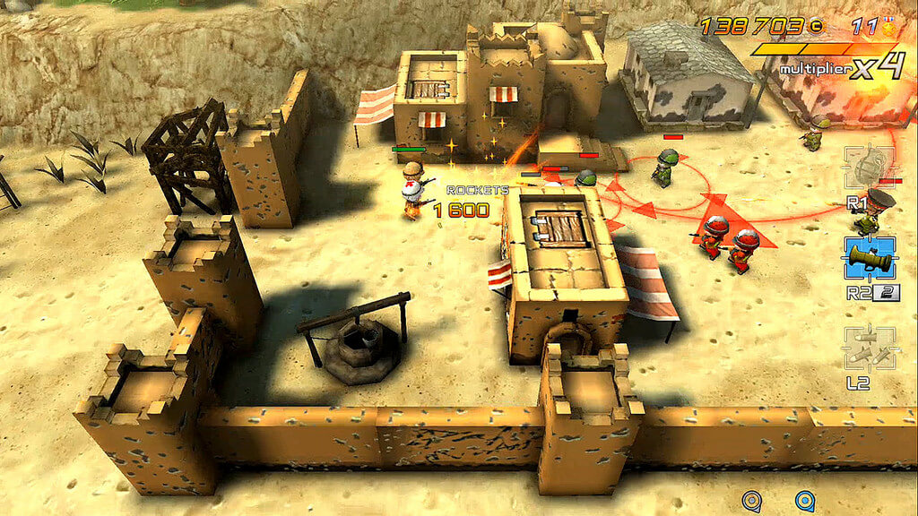 PlayStation Plus - Tiny Troopers Joint Ops