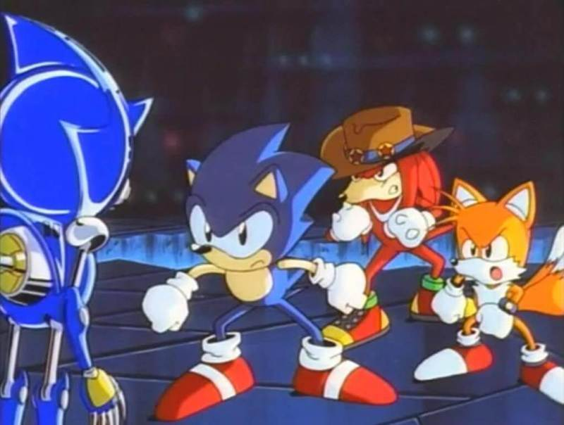 I don't know why we are getting another Sonic movie. We have this one!... Oh, wait.