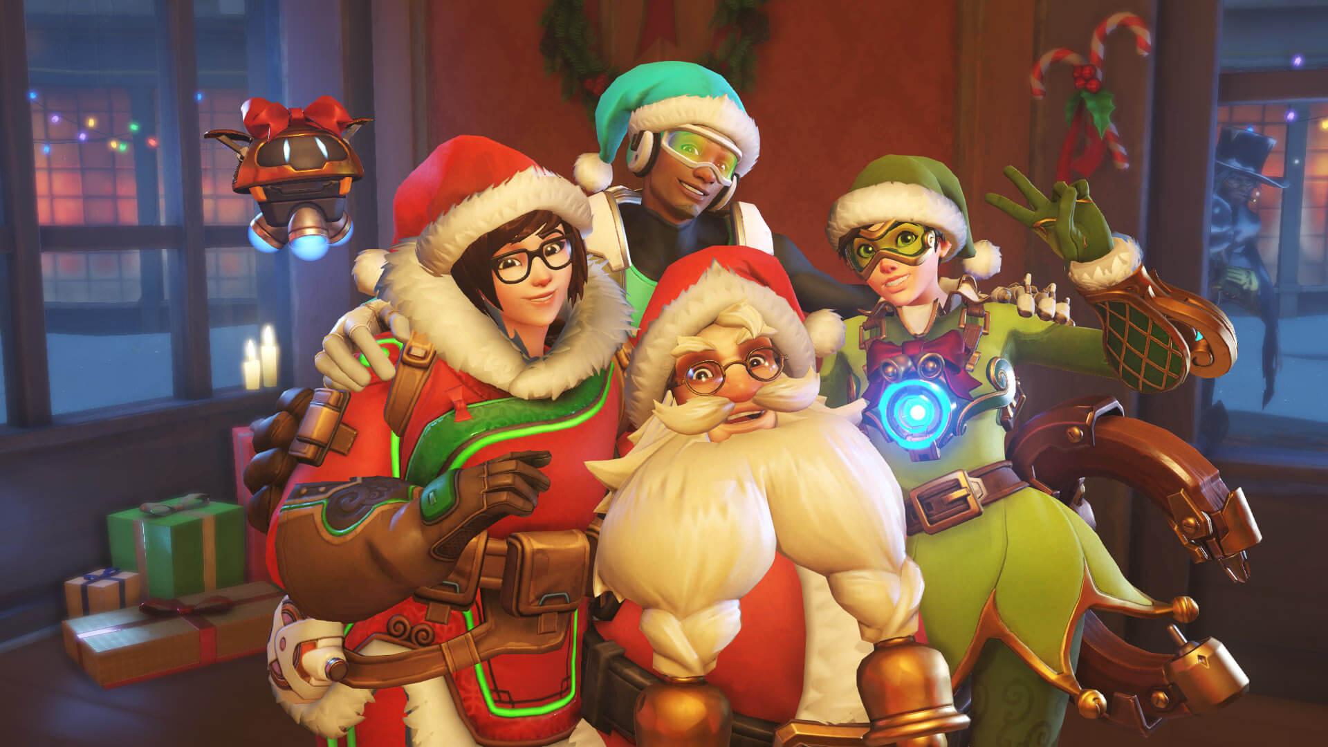 Overwatch Christmas Event 2016