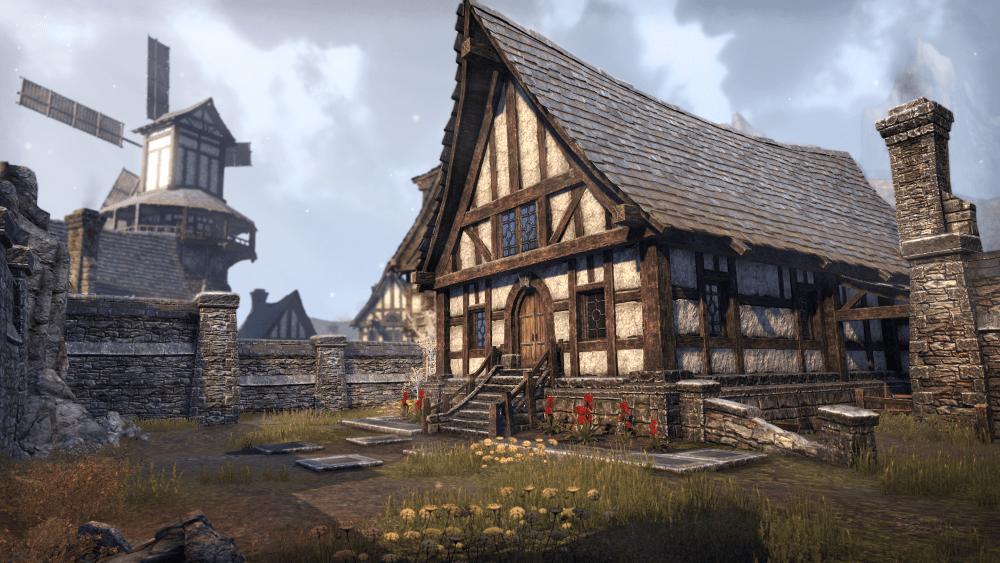 The Elder Scrolls Online Homestead DLC House
