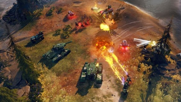 Halo Wars 2 ODST Battle