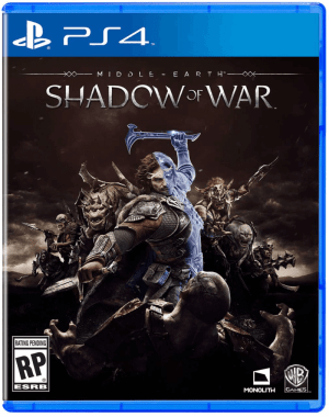 Middle Earth: Shadow of War box art