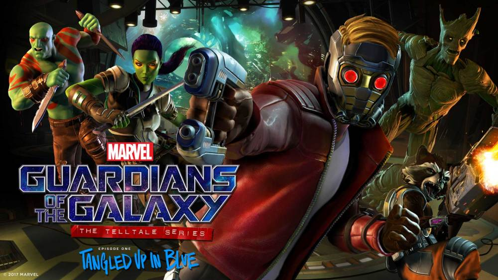 Guardians of the Galaxy: The Telltale Series Episode 1 Logo