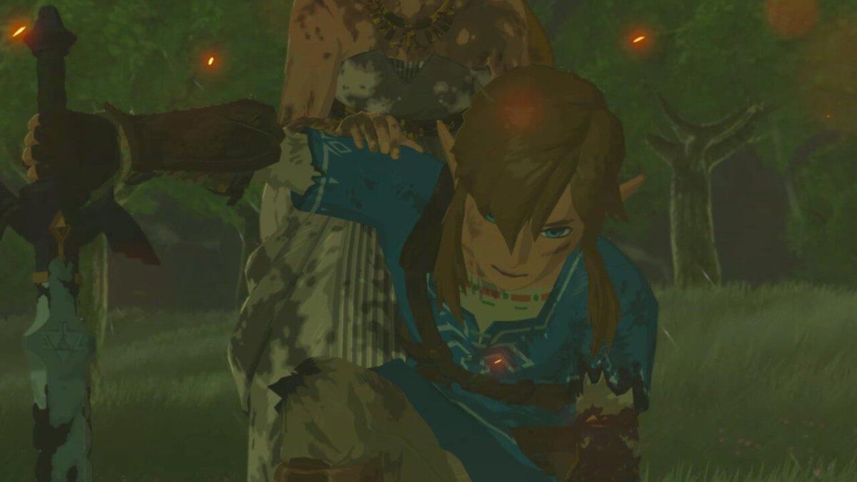 Breath of the Wild Beaten Link
