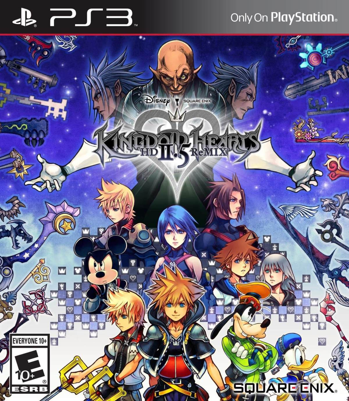 Kingdom Hearts 1.5 x 2.5