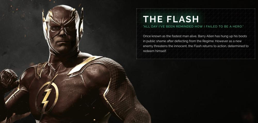 Injustice 2's The Flash