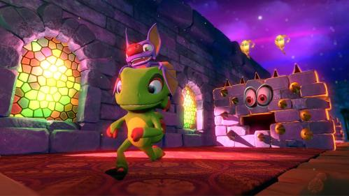 Yooka-Laylee galaxy world