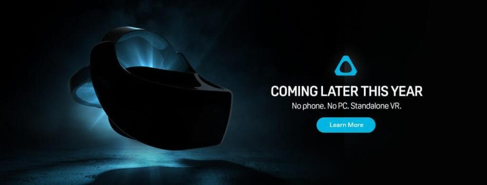Vive Standalone VR headset