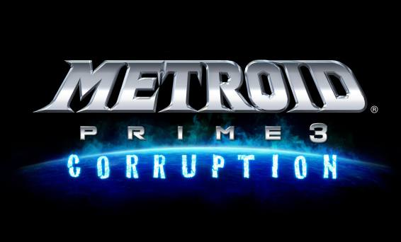 Metroid Prime 3 Corruption Title Screen