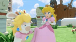 Mario + Rabbid's Kingdom Battle Peach