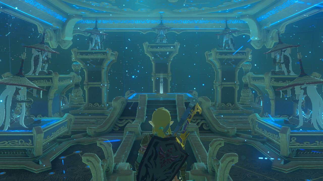 Zelda Breath of the Wild Trial of the Sword Monks