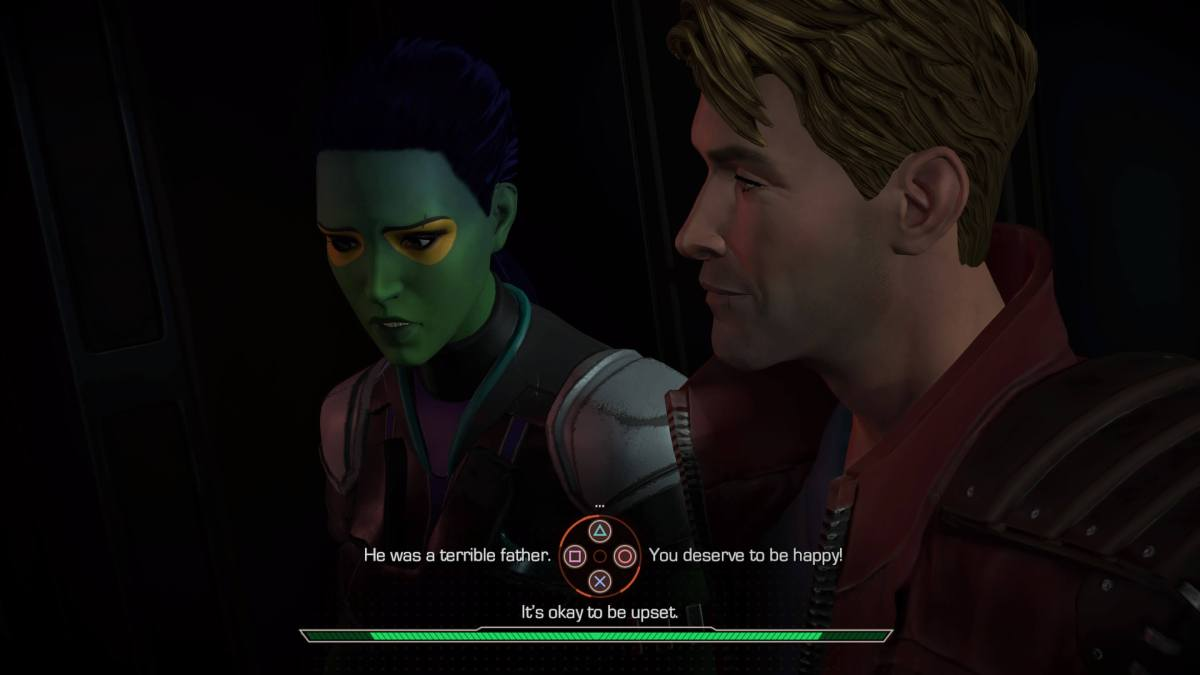Marvel's Guardians of the Galaxy: The Telltale Series Episode 1: Tangled Up in Blue Conversation
