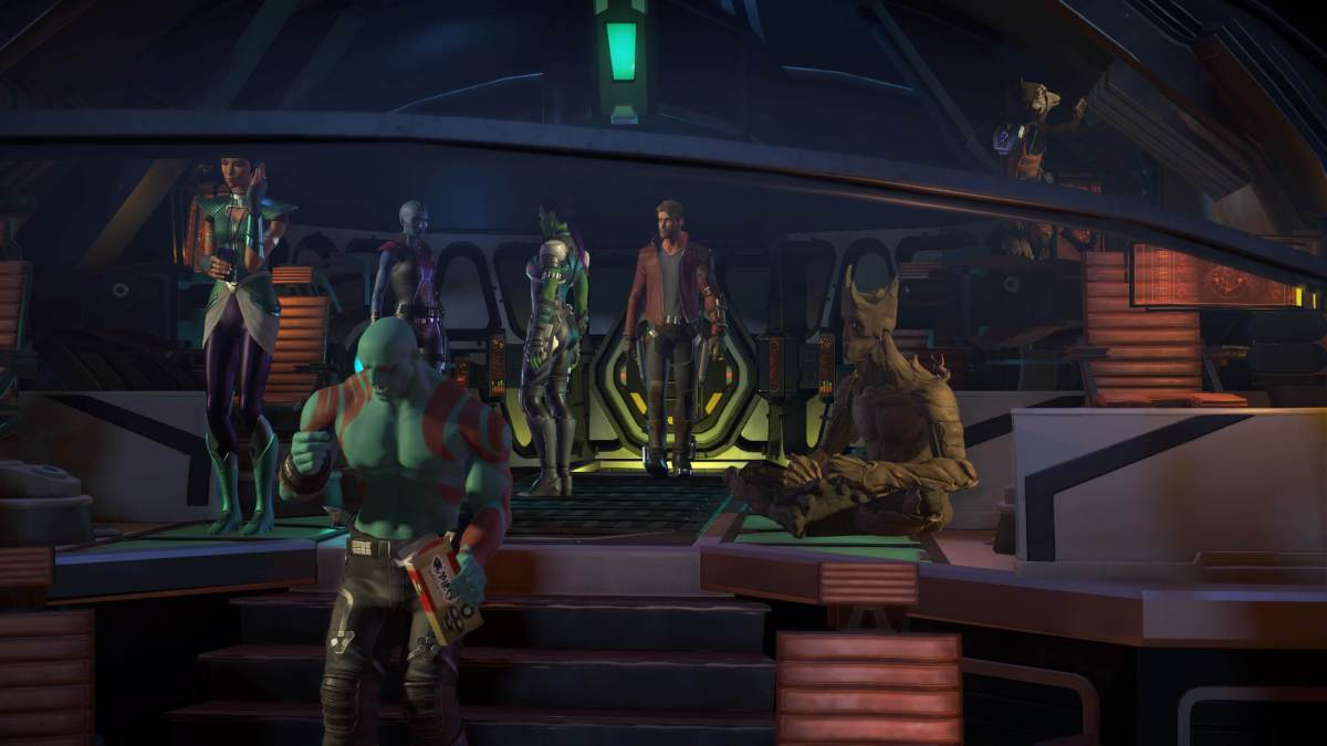 Marvel's Guardians of the Galaxy: The Telltale Series Episode 3 More Than a Feeling Crew