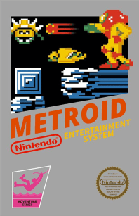Metroid Box Art The Metroid Story