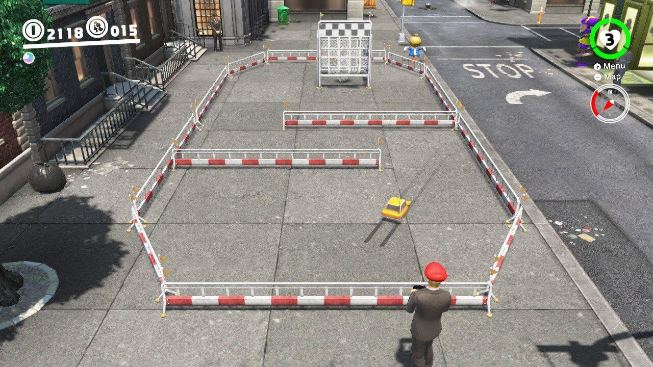 RC Car Capture Mario Odyssey