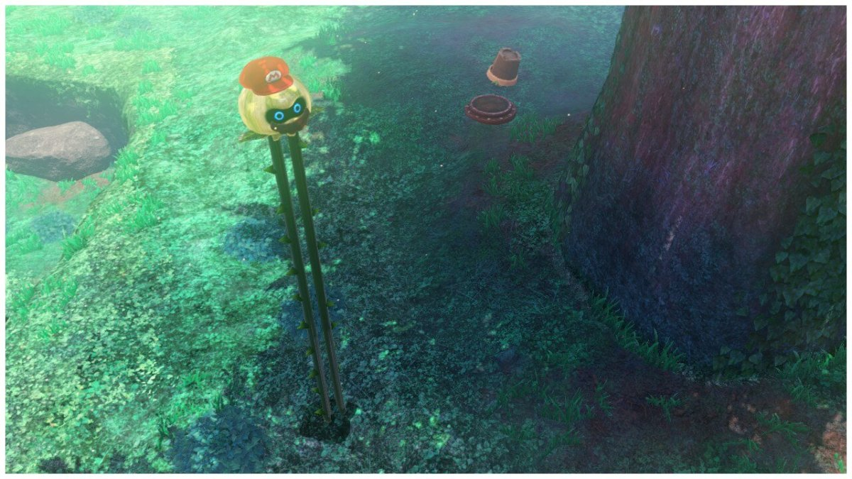 Uproot Capture Mario Odyssey