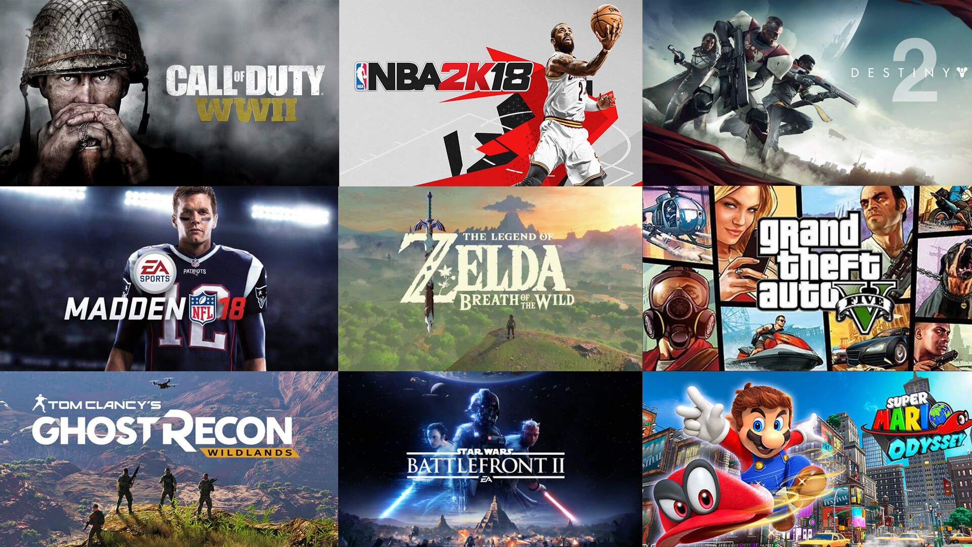 Best-Selling Games