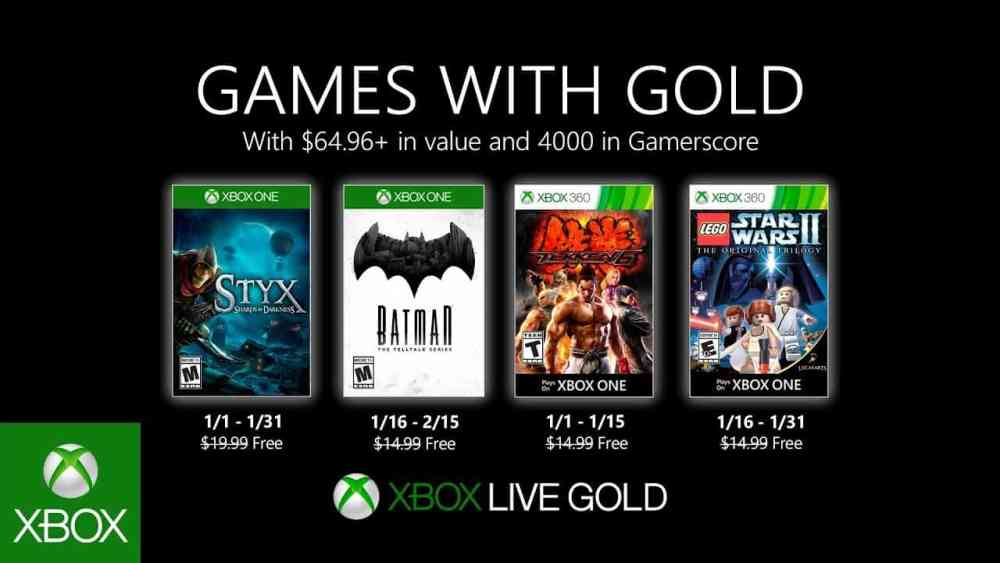 Games With Gold Mai 2020