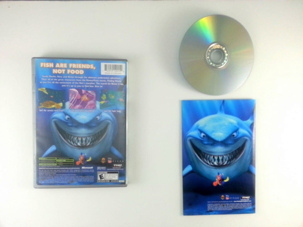 Finding Nemo Xbox 360 Game