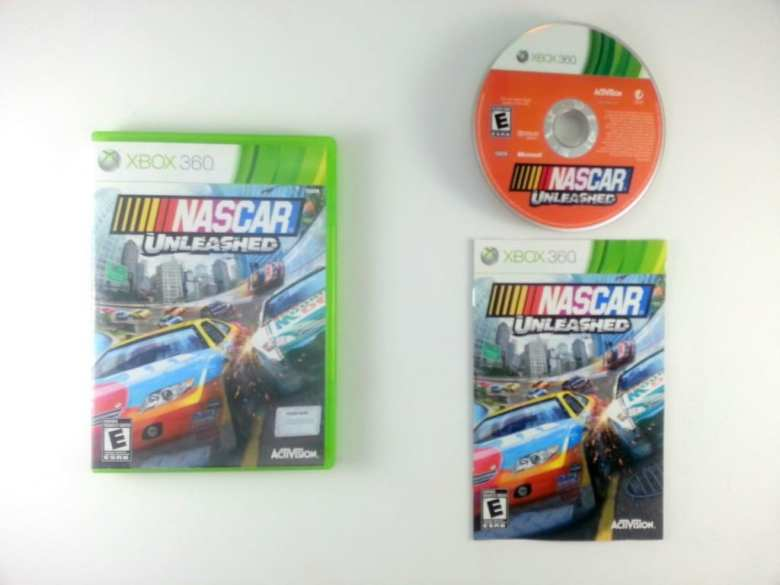 NASCAR Unleashed game for Microsoft Xbox 360 -Complete | eBay