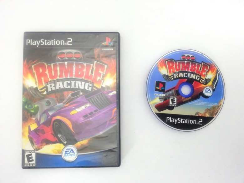 Rumble Racing game for Sony Playstation 2 PS2 -Game & Case - TheGameGuy.ca