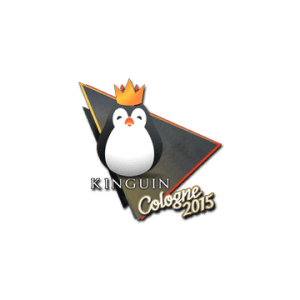 I mean, yes, it is a penguin wearing a crown. Yes, we're a serious organization. Why do you ask? Courtesy of the Steam Community Market Listing