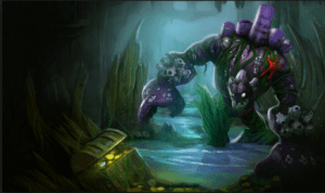 Malphite isn't your everyday rock. He can be: marble, obsidian, green, a transformer, a boat, he can even be coral! (Image: leagueoflegends.wikia.com)