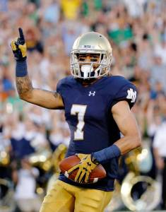 Will Fuller may be considered the top receiver on the board with the fall of Treadwell. (Photo By: Walter Football)