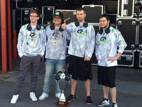OpTic Gaming brought home a second straight ESWC championship over the weekend. (Photo By: Melty.FR)
