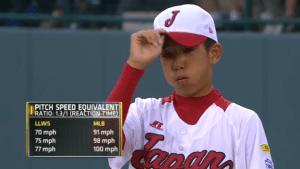 Baseball now consumes a large part of Japan and Latin America. Fireballers in Little League are throwing incredible speeds as the sport continues to grow. (Photo Courtesy, ESPN)