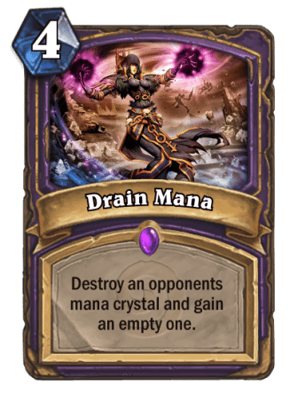 drain mana card