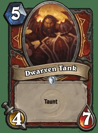 dwarfen tank