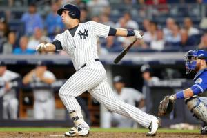 Gary Sanchez has been raking for the Yankees. Can he keep up the hot hitting down the stretch? Photo courtesy of Brad Penner of the USA Today