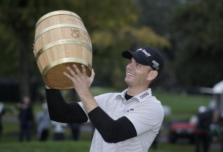Brendan Steele (Courtesy of AP Photo/Eric Risberg)